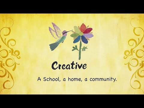 CREATIVE SCHOOL, Bangalore.