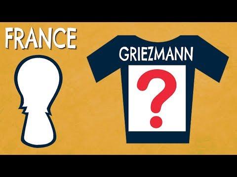 Can You Guess France's Players Squad Numbers For World Cup 2018? | Football Quiz