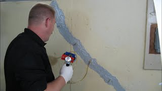 Epoxy Foundation Crack Repair Kit-How To Instructions
