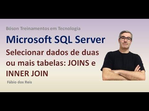 22 - T-SQL - JOINS e INNER JOIN - Selecionar dados de duas ou mais tabelas - SQL Server