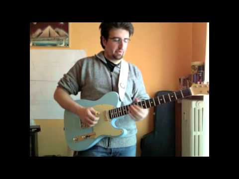 Brad Paisley - American Saturday Night cover by Andrea Cesone