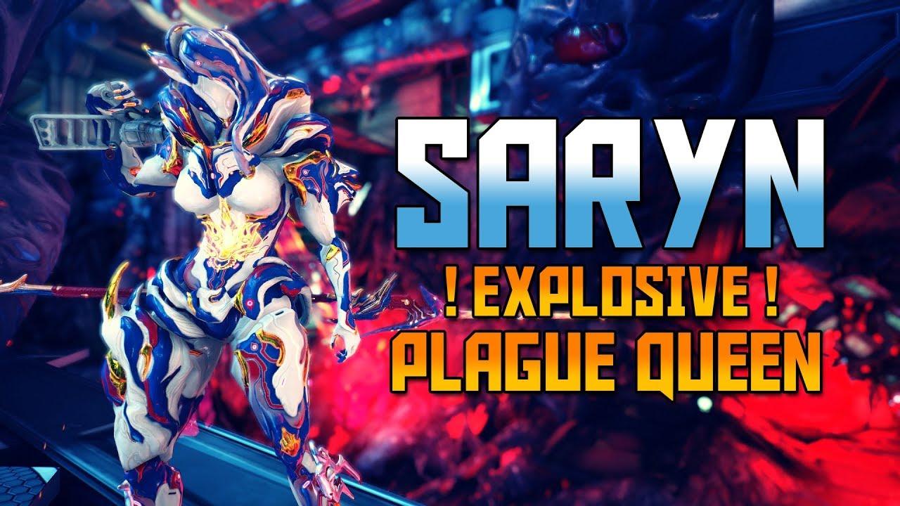 WARFRAME SARYN - Explosive Plague Queen! - YouTube