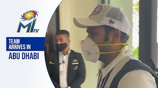 Team arrives in Abu Dhabi | Mumbai Indians | IPL20...