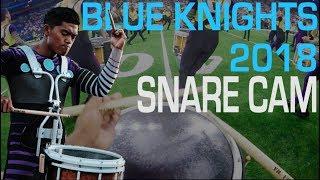 Blue Knights 2018 Snare Cam - Zach Borromeo