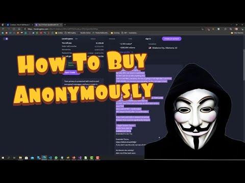 How To Buy Crypto Anonymously 2021   NO ID, NO KYC