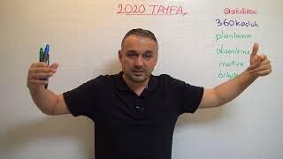 2020 TAYFA (10.SINIF) İLK BULUŞMA - TANIŞMA / BAŞARILI OLMAK İÇİN