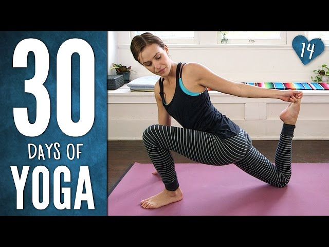 Day 14 - Mindful Hatha Yoga Workout - 30 Days of Yoga
