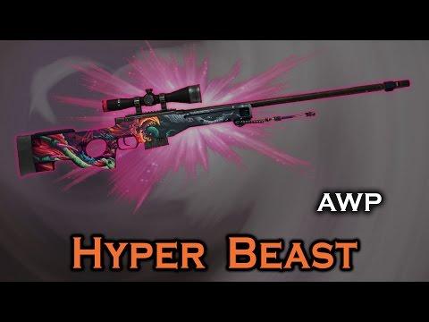 Hyper Beast Awp Stattrak Stickers Skin Preview Fn Mw Ft Ww Bs