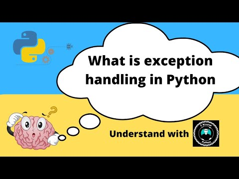 Exception Handling Python Basics Series for Beginners