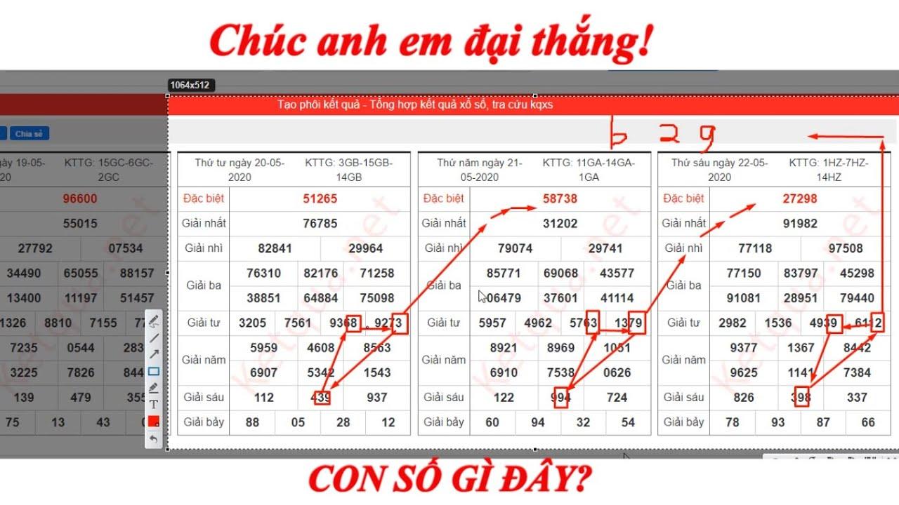 Cầu XSMB ngày 23_05_2020 thống kê phân tích cầu đẹp ngày hôm nay