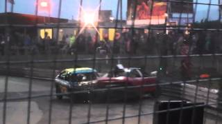 Skegness 2LTR Banger Non Mondeo Crash Attack 5th August 2014