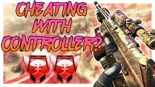 CHEATING WITH A CONTROLLER? - Black Ops 2 PC Nuclear - (Call of Duty: Black Ops 2)