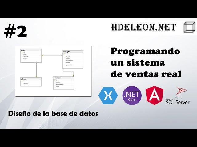 #2 Programando un sistema de ventas real | Diseño de la base de datos