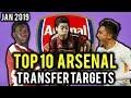 TRANSFER NEWS! TOP 10 Arsenal TRANSFER TARGETS January 2019 ft Almiron, Malcom, Under