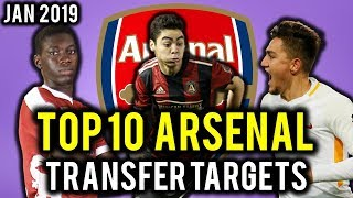 TRANSFER NEWS! TOP 10 Arsenal TRANSFER TARGETS January 2019 ft Almiron, Malcom, Under