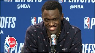 Pascal Siakam after Raptors' Game 3 win: My 'confidence' is growing | 2019 NBA Playoffs