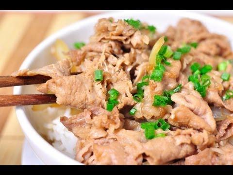 ข้าวหน้าเนื้อญี่ปุ่น (กิวด้ง)