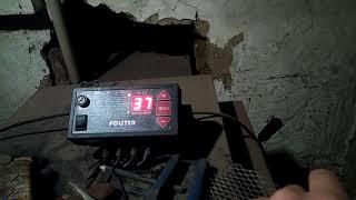 Работа пиролизного котла на угле.(, 2018-02-20T06:07:54.000Z)