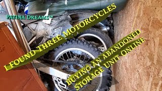 I Found 3 Motorcycles in an Abandoned Storage Unit!!!