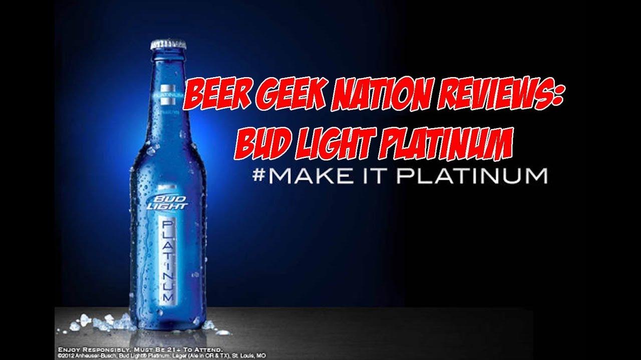 High Quality Bud Light Platinum | Beer Geek Nation Craft Beer Reviews Design