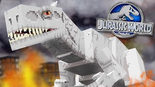 WE HAVE INDOMINUS REX!!! - Jurassic World Minecraft DLC | Ep3