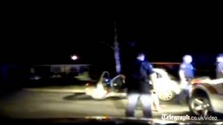 Arkansas police release dashcam video of fatal officer shooting