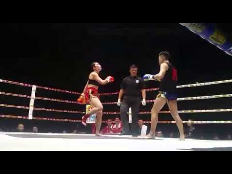 Youth Union Sports Club - Alex Tsang China fight 54kg Round 2