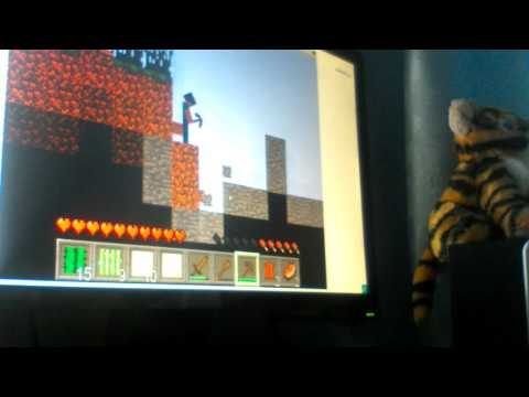 3 часть игры бумажный Minecraft 2D
