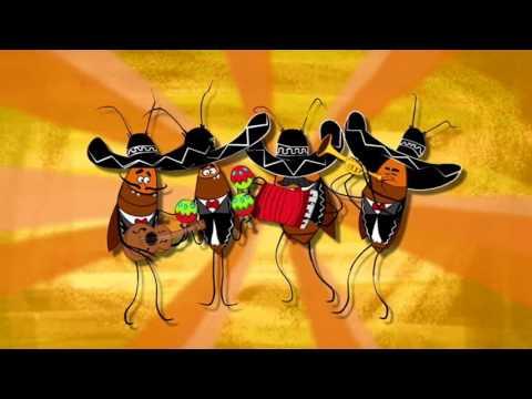 LA CUCARACHA en Español Short animated Story