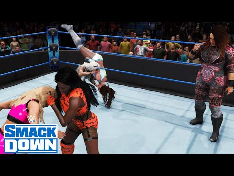 WWE 2K20 SMACKDOWN 5 WOMEN'S BATTLE ROYAL WINNER EARNS A TAG TITLE MATCH FOR HER TEAM