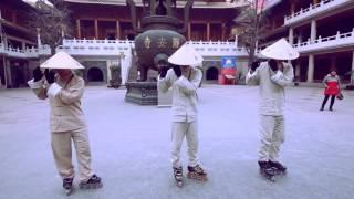 Современные танцы. Офигенная китайская Команда Quick Crew. Хип хоп c брейком.