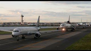 видео Аэропорты Нью-Йорка