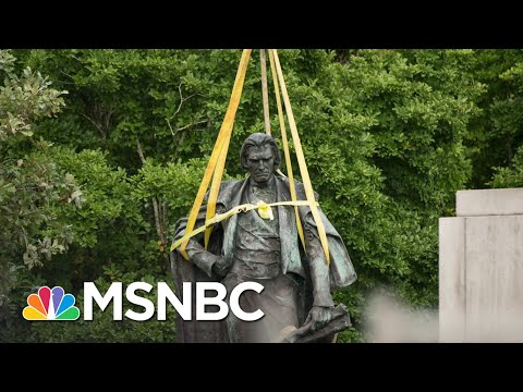 Confederate Monument Removals A Mark Of Progress Long In Coming | Rachel Maddow | MSNBC
