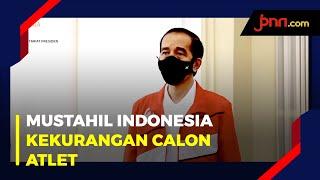 Hari Olahraga Nasional, Jokowi: Nggak Mungkin Indonesia Kekurangan Calon Atlet - JPNN.com