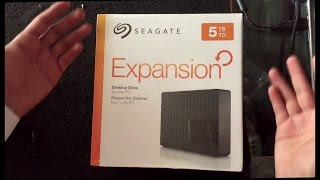Unbox & Speed Test of Seagate 5TB External Hard Drive USB 3.0 STEB5000100