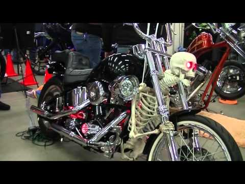 Skeleton Motorcycle Skull and Bones