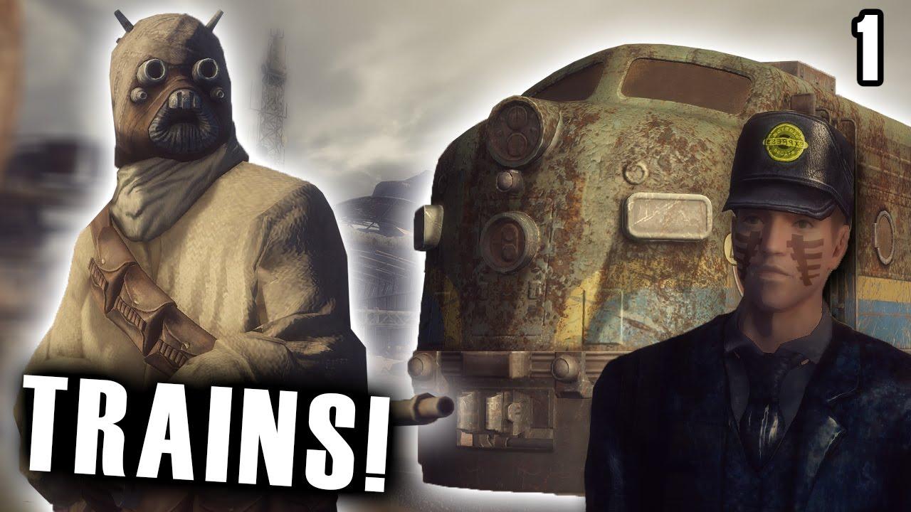 New Vegas Mods Trains Part 1 Youtube