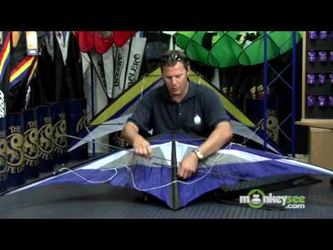 The Assembly And Anatomy Of A Stunt Kite Youtube