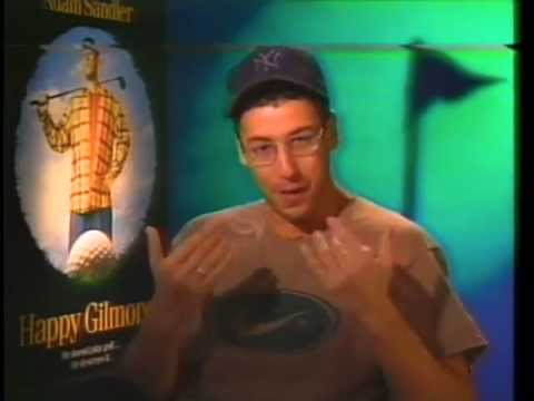 Burnie Burns Interviews Adam Sandler for Happy Gilmore