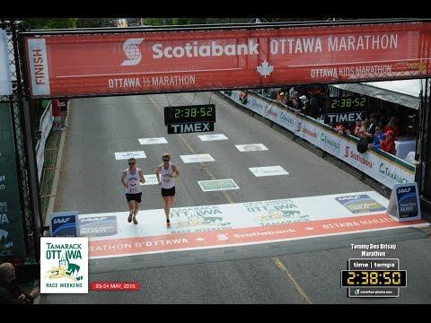 Tommy's 2nd Marathon Ottawa Race Weekend 2015