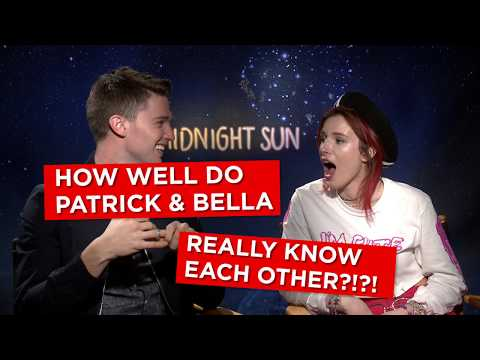 'OMG you have so many cousins!': Bella Thorne and Patrick Schwarzenegger FAIL our costar quiz