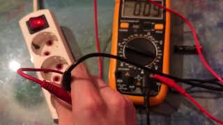 Как Пользоваться Мультиметром Тестером