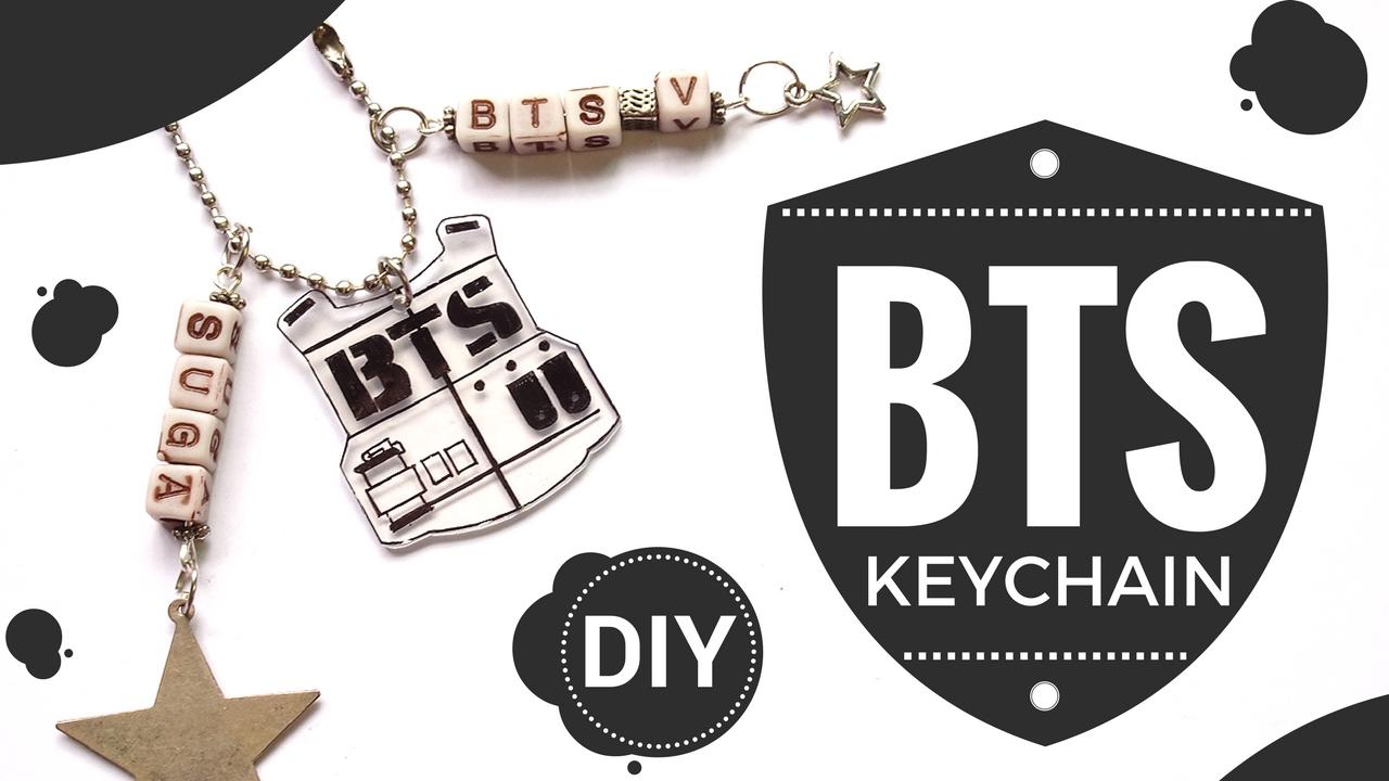 【KPOP DIY】 Make A BTS Charm Recycling Plastic ♥! (Sub ESP ...