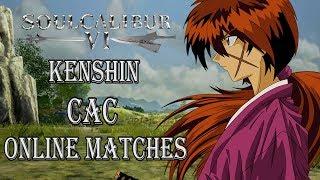 Soul Calibur VI Kenshin (CAC)  Online Battles #1