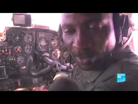 Exclusive report in Mali:  Chadian soldiers being redeployed to the town of Kidal