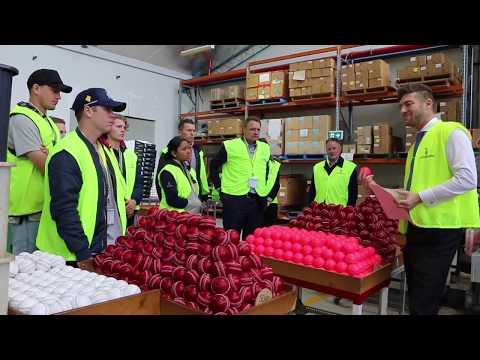 Cricket Victoria Tour Kookaburra Factory