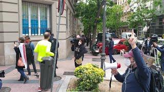 Protesta contra el Gobierno en Núñez de Balboa