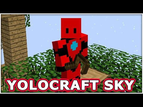 YOLOCRAFT SKY - Episode 2 - The Rubber Tree!