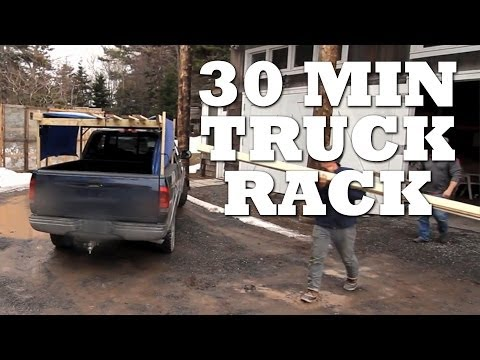 How to Make a TRUCK RACK in 30 Minutes or...