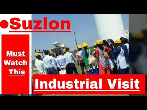Suzlon Industrial Visit - GPN | Wind Turbine | Electrical Engineering